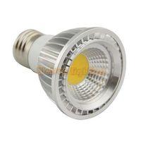 Dimmable PAR20 LED bulb E27 GU10 MR16 spot lamp 5W high power cob LED light