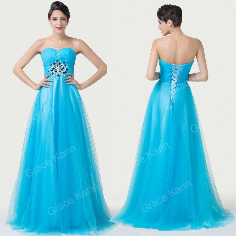 Платье на студенческий бал Grace Karin  CL6243