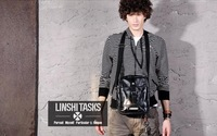 LINSHI TASKS 100% Genuine Leather Fashion Unique Vintage  Designer Men Shoulder Bags Messenger Bag Casual Schoolbag High Quality
