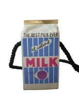 Cute Canvas Milk Box Children Shoulder Bag Lovely Mini Handbag Cartons Pink Blue White Messenger Purse BBB051