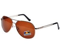 2014 new men's sunglasses polarizer fashion trends driving metal hollow temples yurt 2153