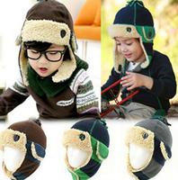 Ear Protector baby  Cap Cartoon Baby Hat Winter Beanie Children hats