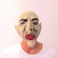 Halloween Old Monster Mask  Masquerade Mask Vendetta Party Mask with No Hair MX009