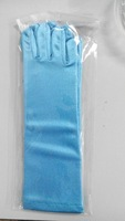 Frozen Elsa Gloves Snow Princess Light blue Kids Long Glove Party Cosplay Accessories DHL EMS Fast  Free shipping