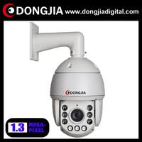"DA-IPPTZ101-A13 6"" Indoor / Outdoor middle speed 18X optical zoom 4.7-84.6 zoom lens 1.3 megapixel onvif HD ip ptz camera"