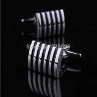 (xk007)Stripe cufflinks/men's shirts cufflinks /cufflinks men/men jewelry