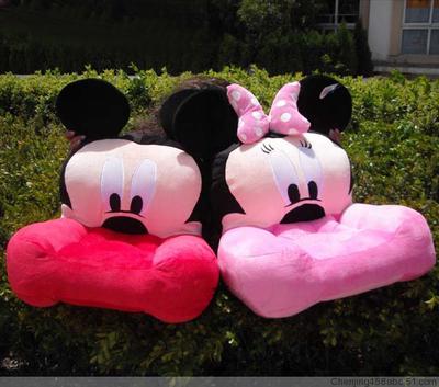 & mickey minnie mickey mouse brinquedo de pelúcia boneca cartoon crianças sofá transporte(China (Mainland))