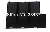 30W Portable Solar Charger For iPhone/Smart Phones+Foldabe Battery Charger Bag/Wallet+Mono Solar Panel Free Shipping VIA HK POST
