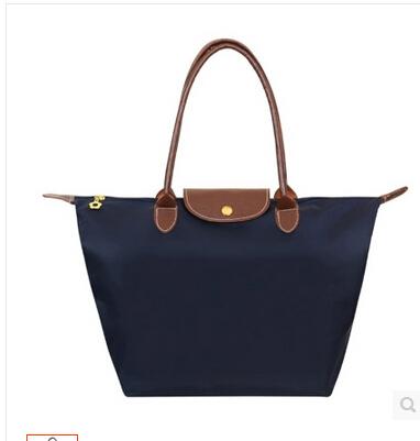 Europe and the United States single shoulder bag handbag shopping bag beach make dumplings bag waterproof nylon bag(China (Mainland))