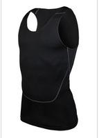 New PRO 2nd Tight Gym Sport Vest perspiration wicking sports fitness basketball vest Tank top