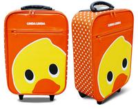 Free shipping, 17inch lindalinda cartoon children travelling rolling luggage