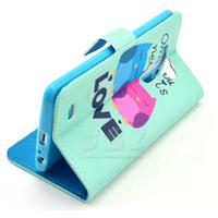 Flip Leather Case Cover + Film for LG Optimus G3 D850 D855 LS990 m