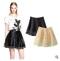 11 Colors New Spring Fashion Wild Womens Striped Mini Skirt Short Mini Skirt WTP0119