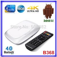 RK3288 Android TV BOX Media Player Android 4.4 B368 Quad Core Cortex A17 1.8GHz 2G /16G Bluetooth 4K FHD 1080P HDMI XBMC Mini PC