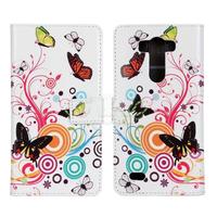 Flip Leather Case Cover + Film for LG Optimus G3 D850 D855 LS990 g