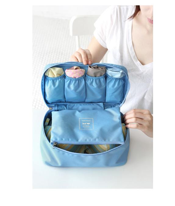 Free Shopping!Portable Travel Underwear Bra Storage Bag Underwear Panties Storage Box Bag Net Bag Wash Bag(China (Mainland))