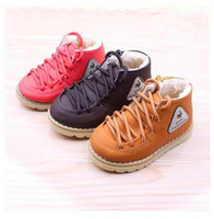 free shipping Children sonw boots in winter Between men and women cotton baby warm short boots shoes
