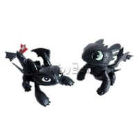 HOT Cartoon Movie How to Train Your Dragon Toothless Mini Action Figure PVC Doll Collectible Toys for Kids Boys