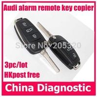 A6 remote controller car alarm system remote control self copy remote control key copier for audi a6 remote control clone 3pc