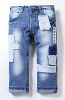 High quality ZA Brand pants Girls Fashion jeans Casual denim pants Children clothing Kids trousers ZA9806