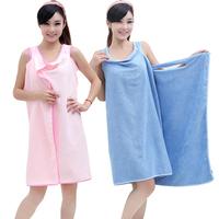 Free Shipping Universal Microfiber Bath Towels Function Magic Bathrobes Beach Dress Drop Shipping