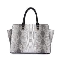 2014 brand design! Serpentine women handbag Fashion large capacity women messenger bags PU leather shoulder bag tote