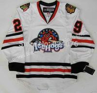 2007-08 Corey Crawford Jersey AHL ICE Hockey Rockford IceHogs Jerseys White - Customized IceHogs Jerseys