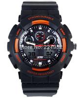 4pcs/lot Skmei Fashion Men Military Sports watches Man digital quartz Chronograph Male Wrist watch Men's LED Wristwatches