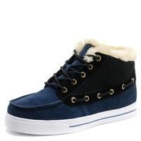 2014 winter men plus velvet high-top genuine leather snow boots size 38 ~ 44