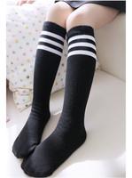10pairs/lot Fashion children high knee socks girl winter warm hose baby hose leg warmer 1-8 years Free Shipping