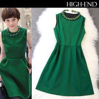 2014 star with elegant dress Slim