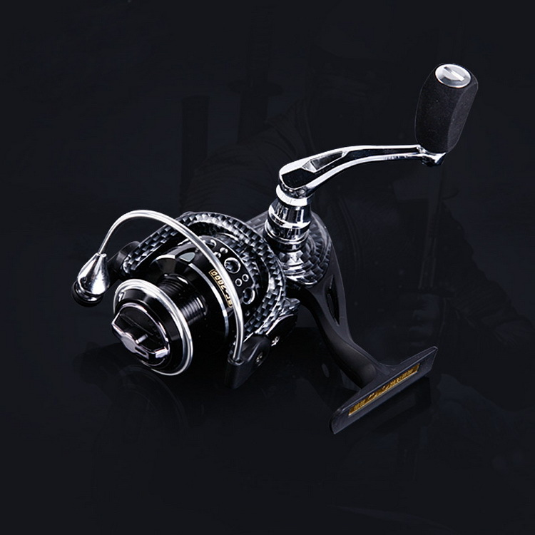European Popular Spinning Fishing Reel 2000 Series 10BB CNC Aluminum Rocker Molinete Pesca Ratio 5.5:1 Free shipping(China (Mainland))