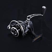 European Popular Spinning Fishing Reel 2000 Series 10BB CNC Aluminum Rocker Molinete Pesca Ratio 5.5:1 Free shipping