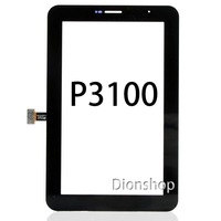 100% New Original Touch Screen Digitizer for Samsung Galaxy Tab 2 7.0 P3100  Replacement touch white black send tools