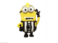 Details about Cartoon Black Minions toy model USB 2.0 Memory Stick Flash pen Drive 8GB P233