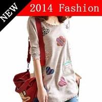2014 desigual plus size autumn women dress fashion solid cotton casual dresses bodycon renda brand topshop woman vestido 927LX
