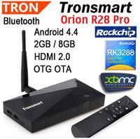 New Tronsmart Orion R28 Pro RK3288 Quad Core 2.0 GHz Google Android smart TV Box 2GB + 8GB  Wifi Bluetooth OTA OTG HDMI receiver