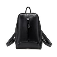 New 2014 Women Backpacks Designer Brand Printing Backpack Hiking Backpacks Women's PU Leather Black Desigual Bag Z5