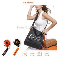 200PCS/SET Nautiloop folding portable shopping bag shoulder bag eco-friendly large storage tote bag