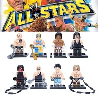 New!! USA Super Wrestler  SY160 Action Figure DIY Building Block set doll  classic  Children  toys Compatible With Lego  T86