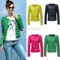 Plus Size S-XL 2014 New Fashion Ladies Down & Parkas Design Coat Winter Outerwear Clothes Women Down Jacket Free Shipping