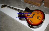 Wholesale -hollow body guitar Sunburst Classic L-5 Archtop Jazz Guitar Free Shipping