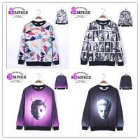 [Magic] 2014 new 3d sweatshirts women high quality  printed hoodie fashion thin 3d women hoodies free shipping