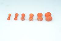 New 60PCS Free Shippment  Wood  Ear Plugs Ear  Scretcher Tunnles Size 3-10mm