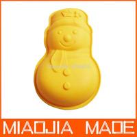 1000pcs / lot Santa snowman silicone cake mold hole jelly pudding mold free shipping /DHL