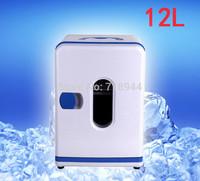 12L Portable 12V Car Fridge 220V-240V Domestic Mini Freezer Can Heat and Cool Nevera Portatil
