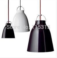 Free Shipping Modern Fashion Caravaggio Suspension Pendant Lamp Lustre Home Luminaire Pendant Lights Fixture 250MM Black