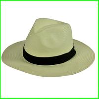 2014 Men'sTrilby Cowboy Hat  Plus Size Sun Hat Hemp  fedora hat Hard Shape 2 Sizes 57cm 59cm