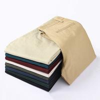 New spring autumn Men Pants fashion Casual men's Pants Trousers korean style pants pure cotton  leisure pants