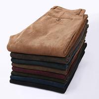 Multicolor Top quality New spring autumn Corduroy Men's Pants fashion Casual Pants Trousers for men pants male leisure pants